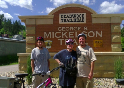 Blake Marna & Deron Mickelson Deadwood Trailhead  2014-07-08