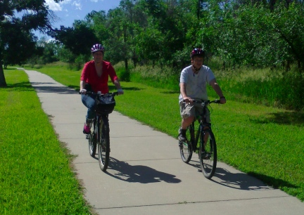 Marna Blake Riding Stugis Bike Trail  2014-06-29