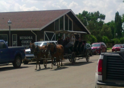 Medora Carriage Tour  2014-07-02.