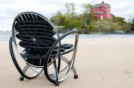 Bicycle Wheel Chair idea
