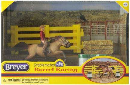 Breyer Horse Stable Mate Barrel Racing, bought the same day as Buckshot