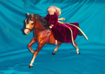 Breyer Princess Riding