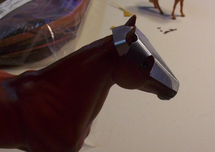 Breyer Horse Armour Construction