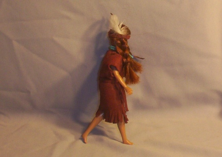 Breyer Doll Indian Maiden