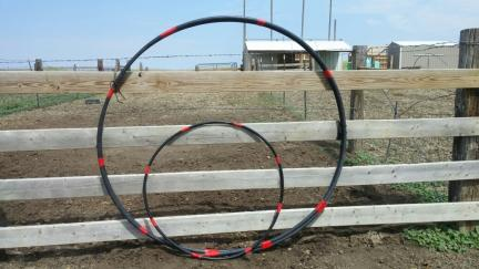 New Horse Agility Hoops 2015-08-27