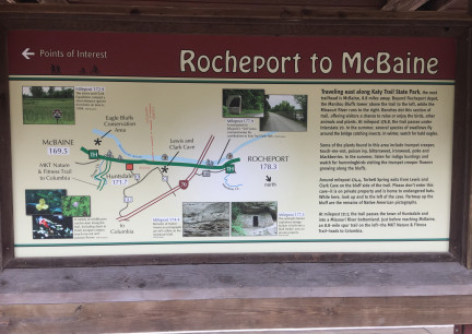 Rocheport to McBaine Infor Katy Trail 2017-10-27
