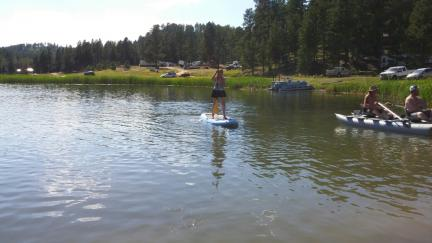 Marna Stand Up Paddle Borrowed Board 2015-08-14