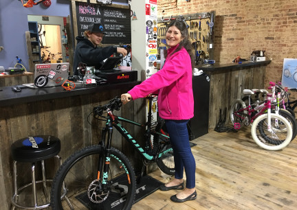 Buying Marna's New Bike 2017-11-17