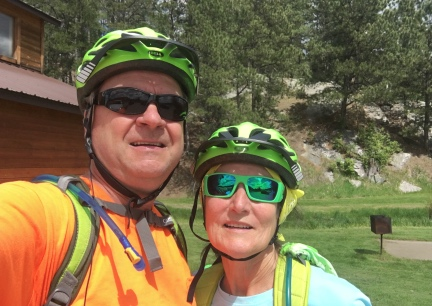 Deron and Marna At The Hill City Trailhead 2016-06-01