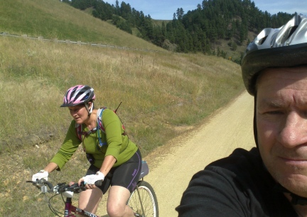 Marna & Deron Riding Mickelson  2014-09-17