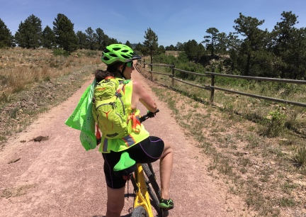 Marna on the Mickelson Trail 2016-06-06