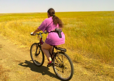 Marna Riding The Prairie Armed 2014-08-11