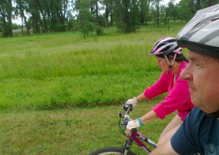 Riding In Belle Fourche 2014-08-10
