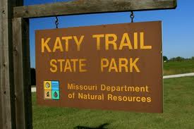 Katy Rails To Trails Bicycle Path Missouri