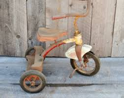 Old Red Tricycle