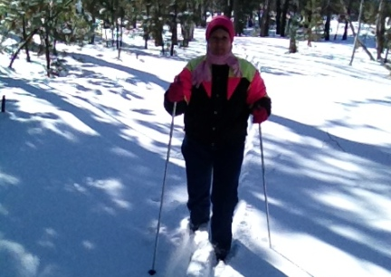 Marna Cross Country Skiing  2015-03-04