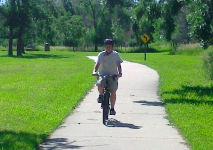 Blake Riding  Sturgis Bike Trail 2014-06-29