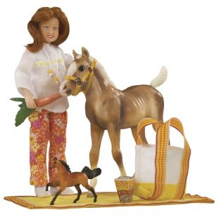 1387 Pony Picnic Play Set