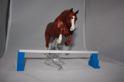 Breyer Horse Jumping