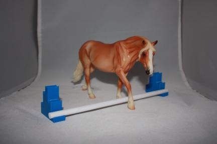 Breyer's Horse Jump Training