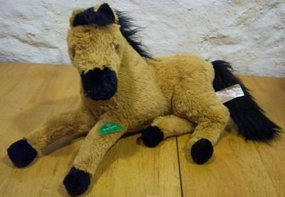 Stuffed Horse Laying Down