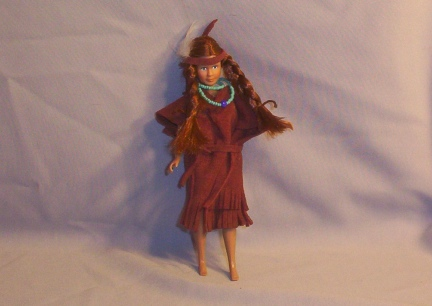 Breyer Doll Rider Indian Maiden