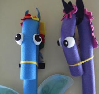 Pool Noodle Stick Horse