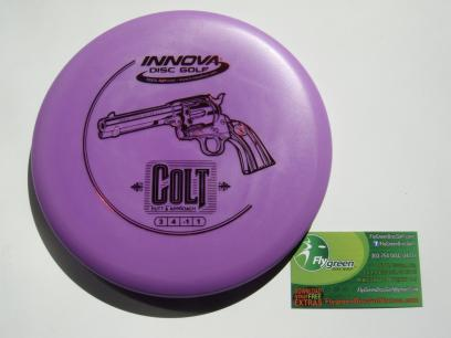 Deron's Purple Colt Disc Golf Putter