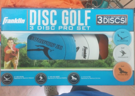 Franklin 3 Disc Golf Set