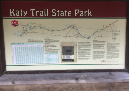 Katy Trail Map 2017-10-27