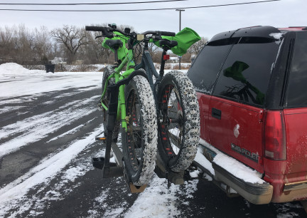 FAT BIKES AFTER RIDE ON 2018-01-02