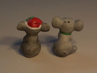 Mouse Salt & Pepper Shakers